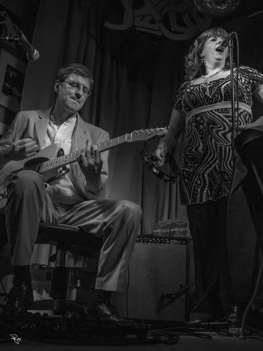 Chez léonie - concert Gladys AMOROS -Michel FOIZON